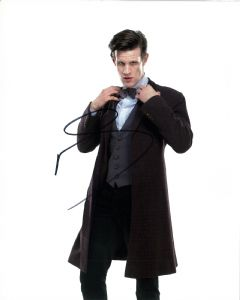 "Matt Smith, ""11th Doctor"" DOCTOR WHO Genuine Signed Autograph 11111"